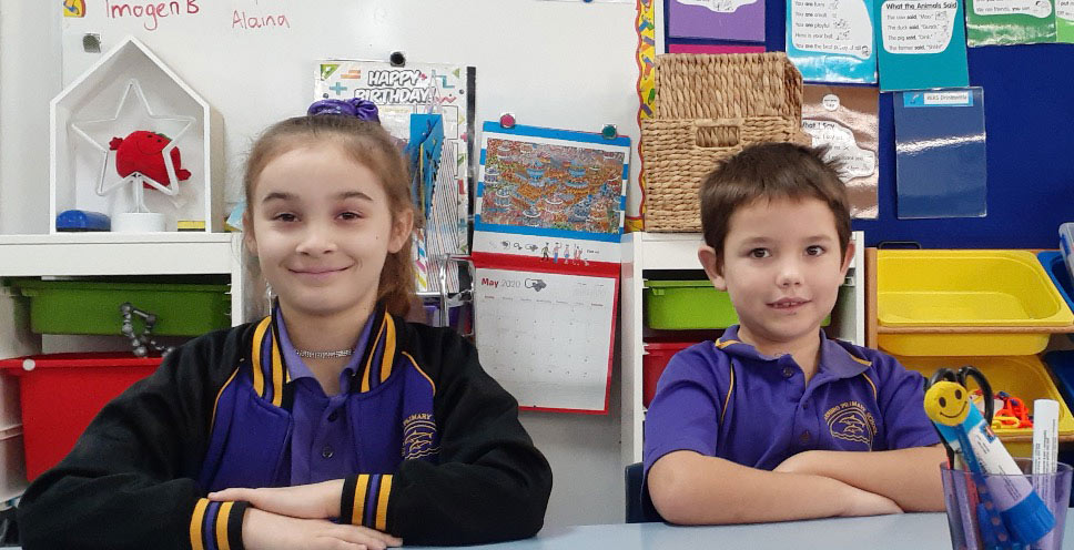 Warnbro Primary School Students